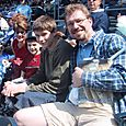 Rothschild Family at KC Royals Game